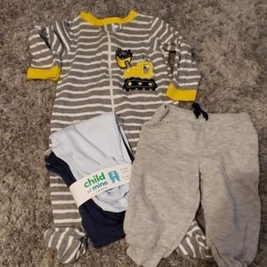 3-6m Pajamas and Pants